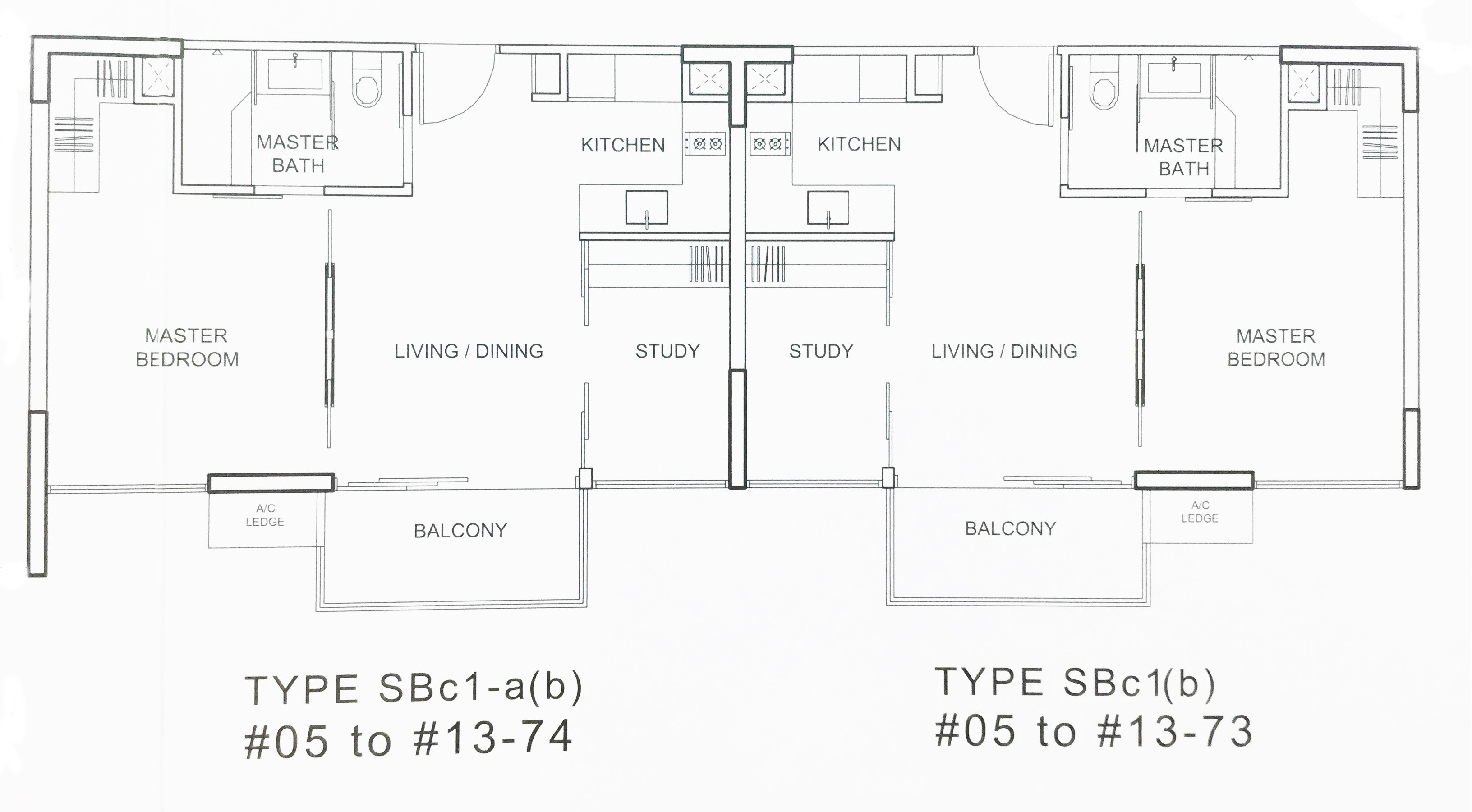 Watertown 2 Bedroom Compact Floor Plan