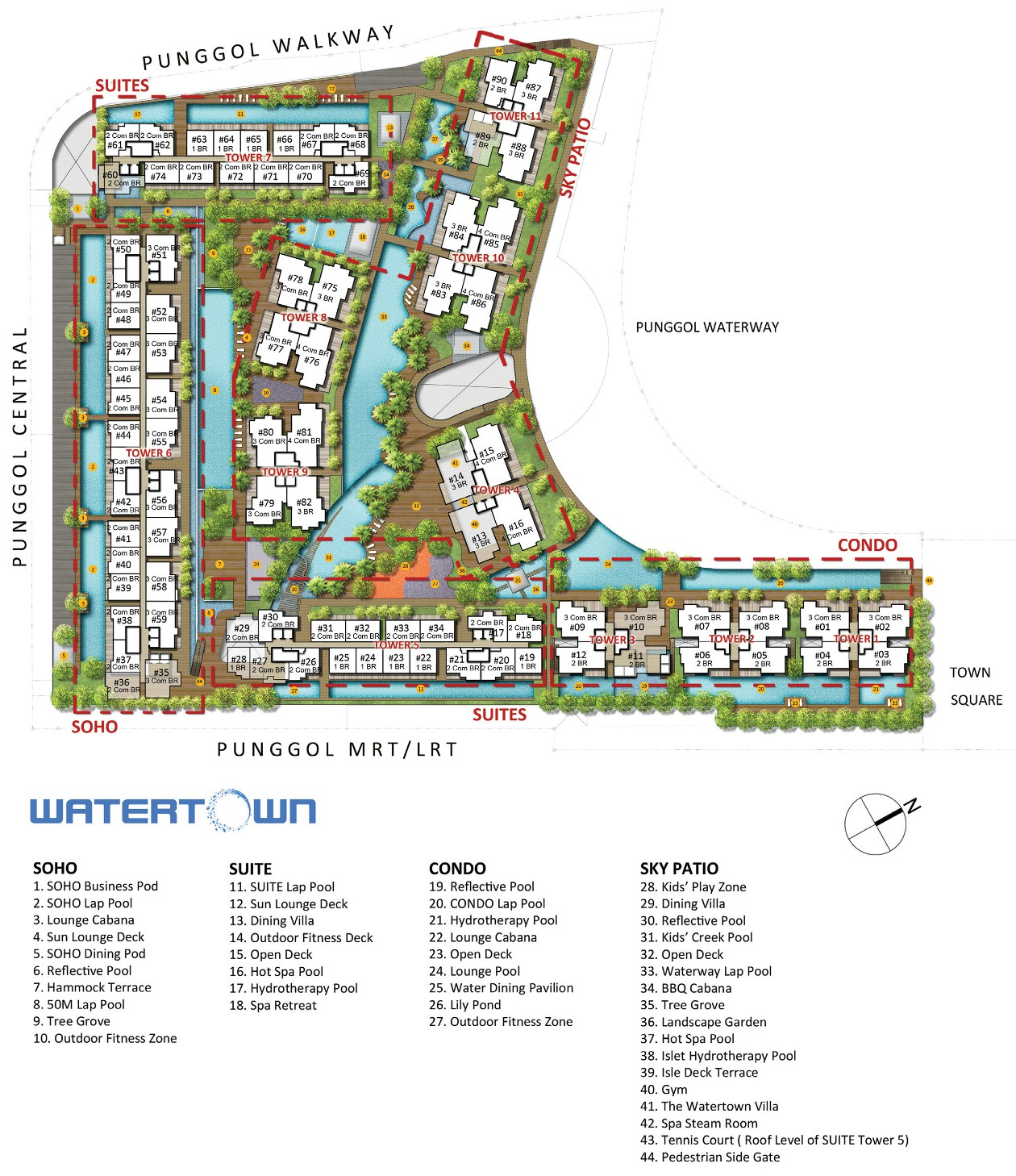 william tan homes watertown site plan